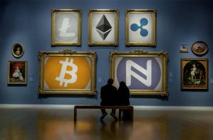 Cryptocurrency Art Gallery by Namecoin