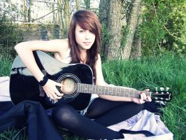 just me and my guitar by bad---attack