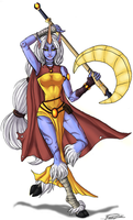 LoL Soraka by FoofooDaBoss