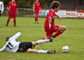 Sliding Tackle by thereisnoband