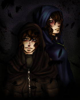 Golden Hystaria and Air Poisonous - CREEPYPASTA by goldenhysteria