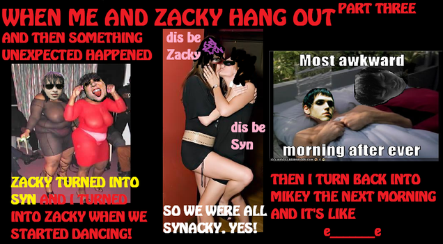 When Zacky and Mikey Hang Out3 by songofhateanddeath