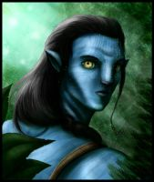 Avatar dude by Destinyfall