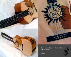 Supernatural Guitar Bag _ Details by FashionAtelier