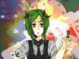 Poker Face - Gumi by Amarante-sama