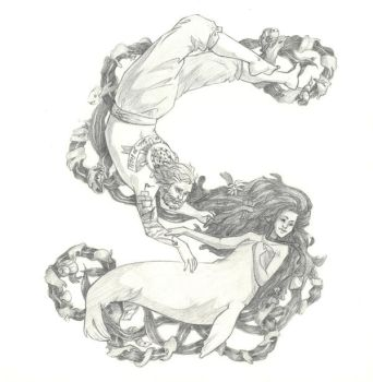 S is for Selkie by LightlyBow