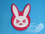 D.Va Bunny Patch by FeatherStitched