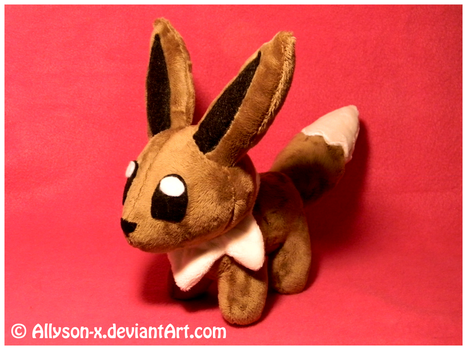Eevee Mini-Minky Plush by Allyson-x