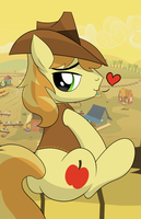 Braeburn Got Back WIP by drawponies