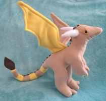 Busko the Custom Stuffed Dragon by Skylanth