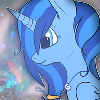 Shelly Blue Icon by PixelCorgi