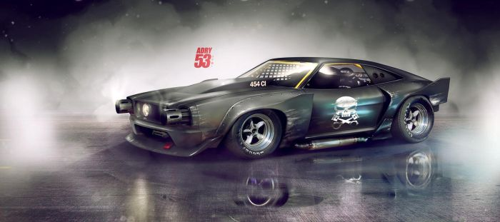 74' Mustang by Adry53