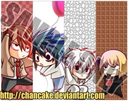 DN BOOKMARKS by Chancake