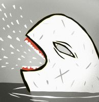 White whale from hell by peerro