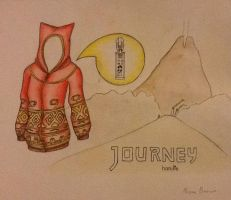 Journey hoodie design! by TheSilentArtist2225