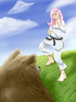 She can kill a bear with her bare hands! by Xeolan