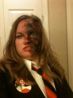 Female Two Face cosplay by rusting-angel