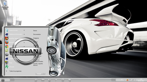 New Theme  Nissan For Windows Seven by Brasileno2010