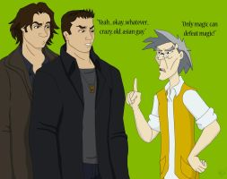 Advice from Uncle to the Winchesters by TheLastUnicorn1985