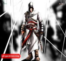 Atair Assassins Creed by eduardosecolin