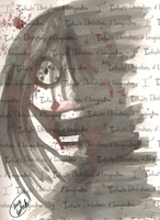 Jeff the Killer Watercolors by I3-byUsagi