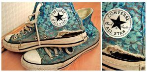 My Old Converse by MargoHell
