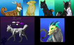 Wolf Soul Art Requests Batch 1 Complete by DeadWolfGirl93