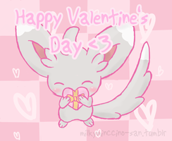 Happy Valentine's Day ~ by poke-helioptile294