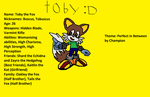 Toby the Fox by BladetheEchidna1