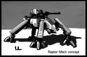 Raptor concept by Talros