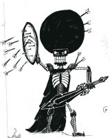 300: Afro Skeleton Style by Gref313
