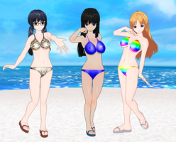 Eroge girls bikinis by quamp