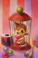 Monkey Cage by jengslizer