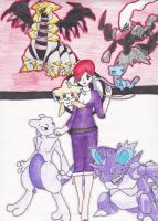 Me and my pokemon team by crazy-anime-chick