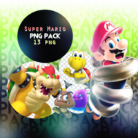 Super Mario - Png Pack by SwiftPs