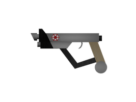 Nambu Pattern Las Machine-Pistol by DarthKaiser