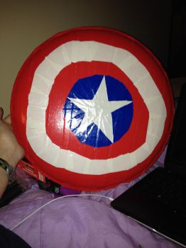 Captain America Shield by Lbooks93