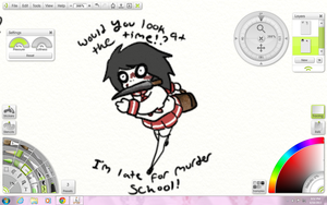 Jeff The Killer sketch preview by CaramelMoelleux