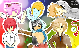 Q 6 : Actualy, We Pose! by Ask-The-Boys