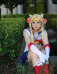 Sailor Moon by BluePixieKimiko