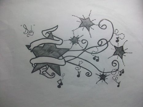 stary night by duckystattoos101