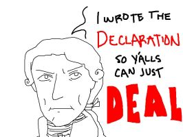 Whatever, Jefferson by camio105