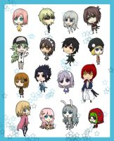 2011 Chibi set by Levinne
