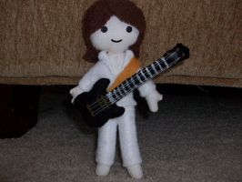 John Paul Jones plushie by spastic-fantastic