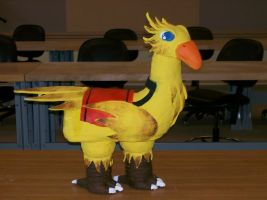 Chocobo From Final Fantasy by silent-assassin-XIII