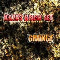 Kaze Grunge Brushes by European-Hippie