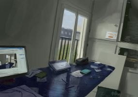 my room studies by paooo