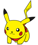 Pikachu drawing by KnightAtNights