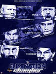 Elimination Chamber Poster by BigHero1