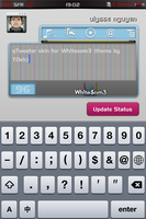 qTweeter skin for Whitesom3 by ulysseleviet